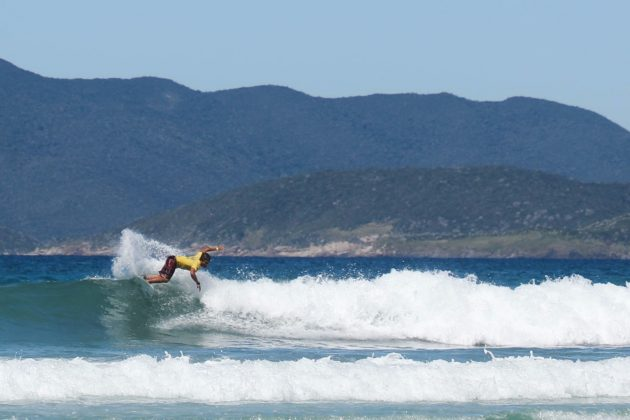 Ayrton Dylan, Top Surf Pro 2018, Praia do Forte, Cabo Frio (RJ). Foto: Patricia Coutinho.