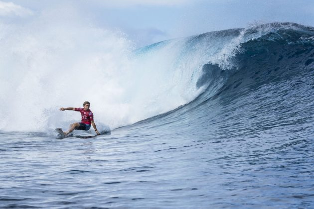 Conner Coffin, Tahiti Pro 2018, Teahupoo. Foto: WSL / Poullenot.