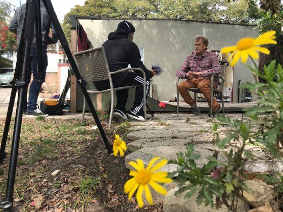 Tom Curren abre sua intimidade. Em breve novo programa no Canal OFF com Fabio Gouveia, Califórnia (EUA). Foto: Arquivo pessoal.