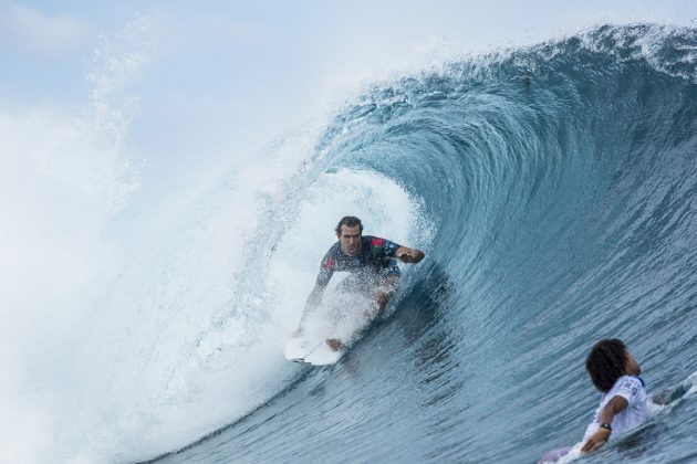 Frederico Morais, Tahiti Pro 2018, Teahupoo. Foto: WSL / Poullenot.