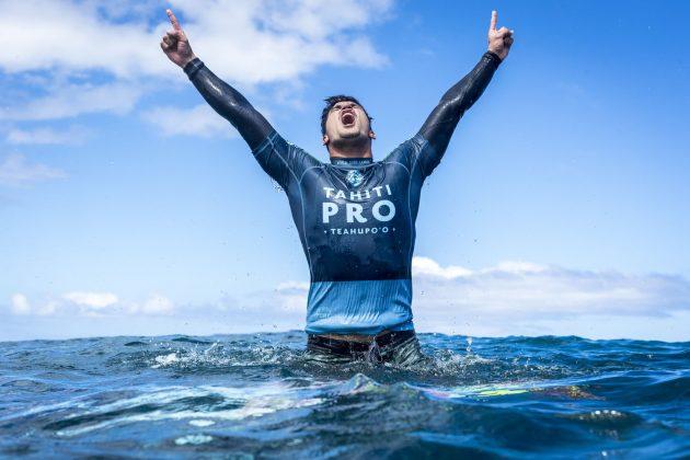 Gabriel Medina, Tahiti Pro 2018, Teahupoo. Foto: WSL / Poullenot.