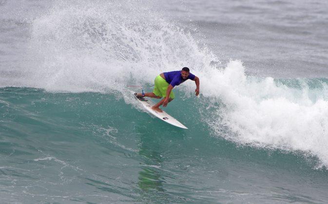 Glauciano Rodrigues, Rio Surf Pro Brasil 2018, Macumba (RJ). Foto: Pedro Monteiro.