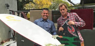 Fabio Gouveia e Tom Curren