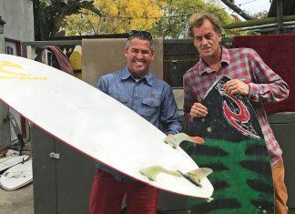 Fabio Gouveia e Tom Curren