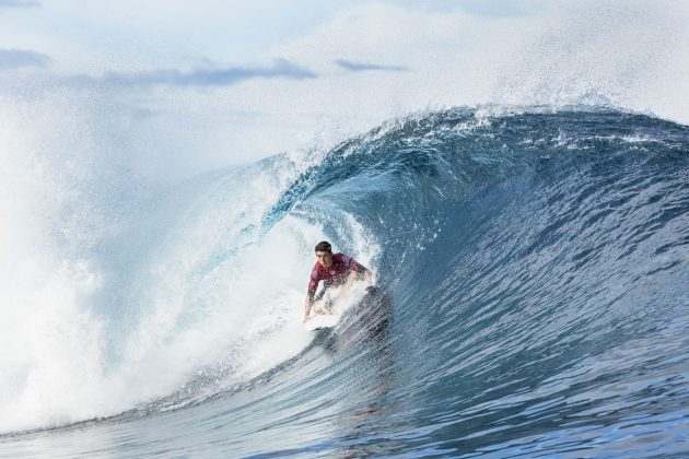 Griffin Colapinto, Tahiti Pro 2018, Teahupoo. Foto: WSL / Poullenot.