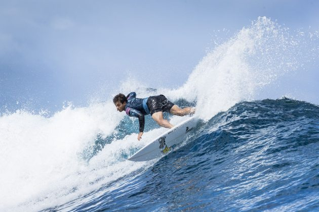 Keanu Asing, Tahiti Pro 2018, Teahupoo. Foto: WSL / Poullenot.