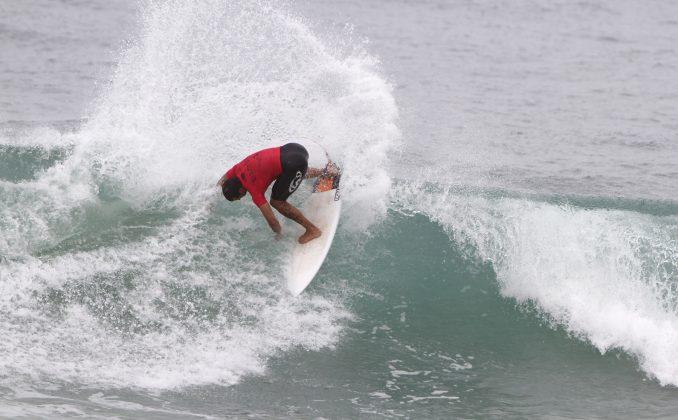 Leandro Bastos, Rio Surf Pro Brasil 2018, Macumba (RJ). Foto: Pedro Monteiro.