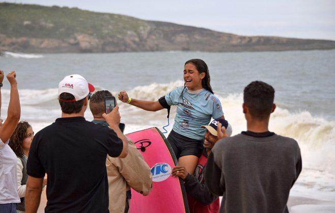Luna Hardman, Capixaba Bodyboarding Brasil 2018, Barra do Jucu (ES). Foto: Reprodução.