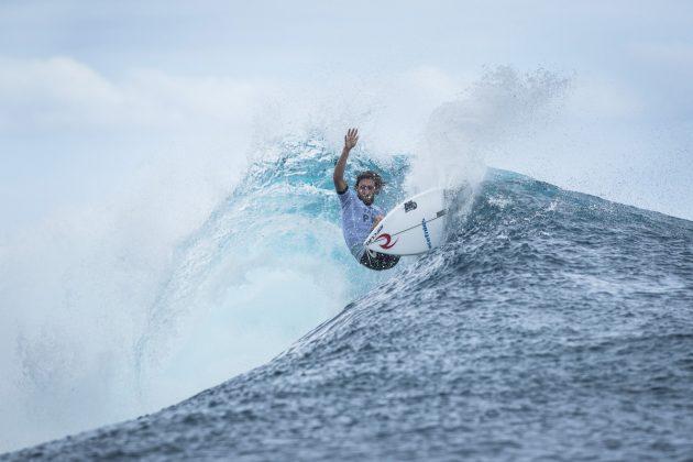 Matt Wilkinson, Tahiti Pro 2018, Teahupoo. Foto: WSL / Poullenot.
