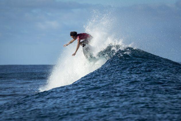 Michael February, Tahiti Pro 2018, Teahupoo. Foto: WSL / Poullenot.