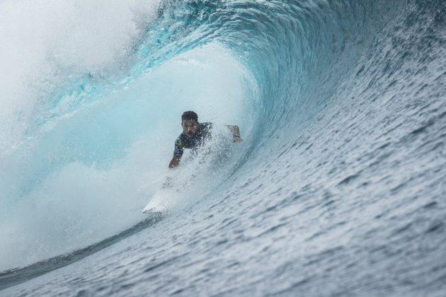 Michael Rodrigues, Tahiti Pro 2018, Teahupoo. Foto: WSL / Poullenot.