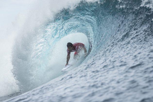Michel Bourez, Tahiti Pro 2018, Teahupoo. Foto: WSL / Poullenot.
