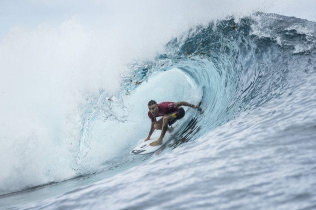 Mikey Wright, Tahiti Pro 2018, Teahupoo. Foto: WSL / Poullenot.