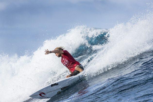 Owen Wright, Tahiti Pro 2018, Teahupoo. Foto: WSL / Poullenot.