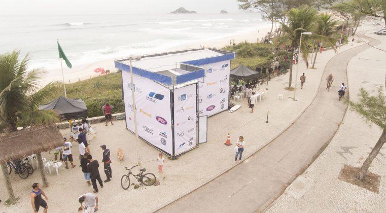 Palanque, Rio Surf Pro Brasil 2018, Macumba (RJ). Foto: Bernardo Ferreira.