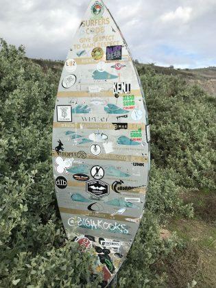 Surfers Code em Rincon, Califórnia (EUA). Foto: Arquivo pessoal.