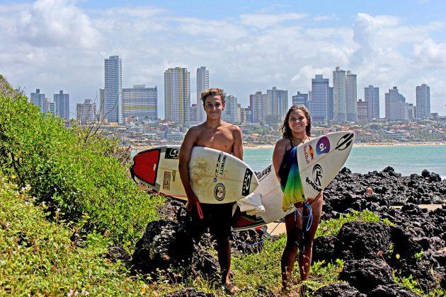 Tainá Hinckel e Mateus Sena, Natal (RN). Foto: Divulgação.