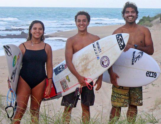 Tainá, Mateus Sena e Wayan Hinckel, Natal (RN). Foto: Divulgação.