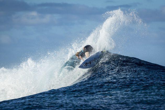 Wade Carmichael, Tahiti Pro 2018, Teahupoo. Foto: WSL / Poullenot.