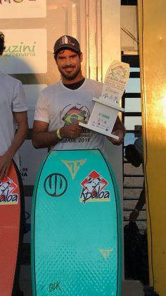 Uri Valadão, Capixaba Bodyboarding Brasil 2018, Barra do Jucu (ES). Foto: Arquivo pessoal.