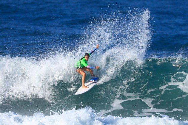 Açucena Vaz. CBSurf Pro Tour 2018, Praia de Maresias (SP). Foto: Aleko Stergiou