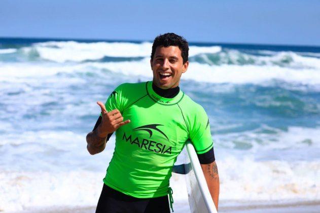 Alex Ribeiro. CBSurf Pro Tour 2018, Praia de Maresias (SP). Foto: Aleko Stergiou