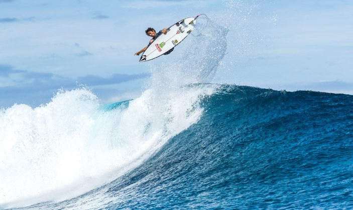 Yago Dora, Tahiti Pro 2018, Teahupoo. Foto: WSL / Cestari.