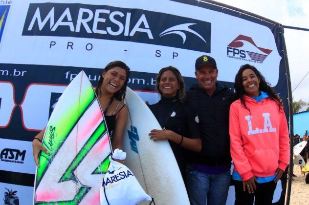 Equipe Feminina ISA Games, CBSurf Pro Tour 2018, Maresias, São Sebastião (SP). Foto: Aleko Stergiou.