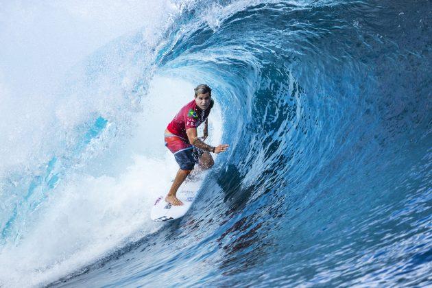 Italo Ferreira, Tahiti Pro 2018, Teahupoo. Foto: WSL / Cestari.