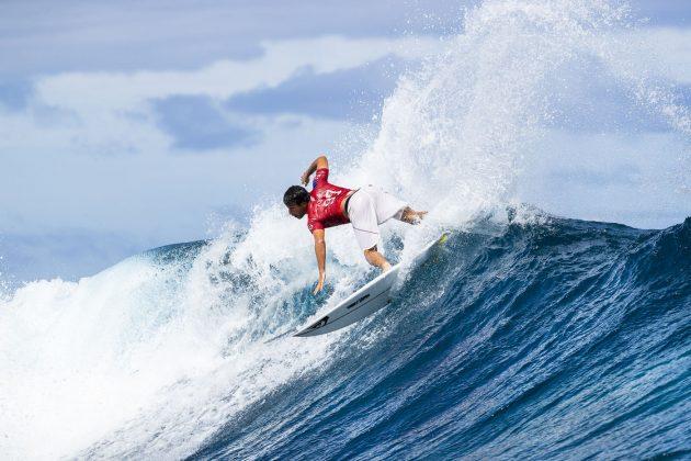 Jeremy Flores, Tahiti Pro 2018, Teahupoo. Foto: WSL / Cestari.