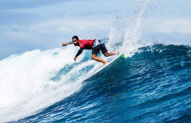 Tomas Hermes, Tahiti Pro 2018, Teahupoo. Foto: WSL / Cestari.