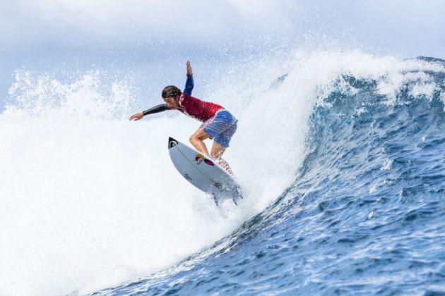 Kanoa Igarashi, Tahiti Pro 2018, Teahupoo. Foto: WSL / Cestari.