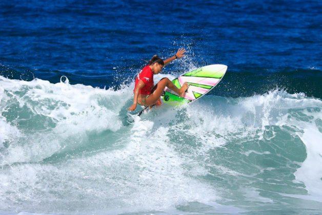Larissa Santos. CBSurf Pro Tour 2018, Praia de Maresias (SP). Foto: Aleko Stergiou