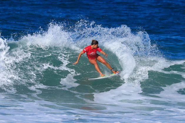 Larissa dos Santos. CBSurf Pro Tour 2018, Praia de Maresias (SP). Foto: Aleko Stergiou