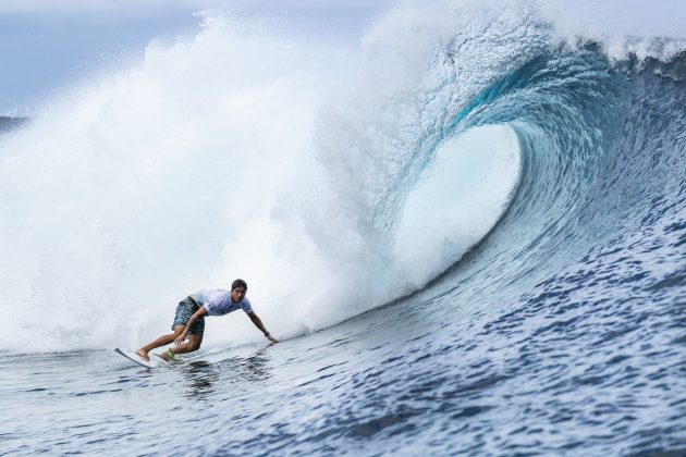 Miguel Pupo, Tahiti Pro 2018, Teahupoo. Foto: WSL / Cestari.
