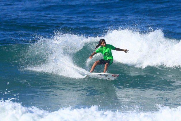 Sophia Medina. CBSurf Pro Tour 2018, Praia de Maresias (SP). Foto: Aleko Stergiou