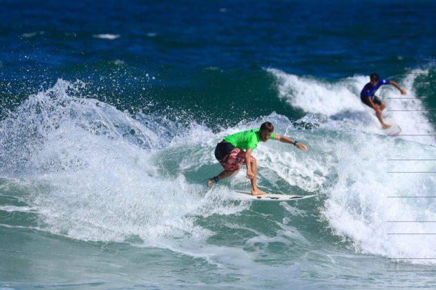 Vitor Mendes. CBSurf Pro Tour 2018, Praia de Maresias (SP). Foto: Aleko Stergiou