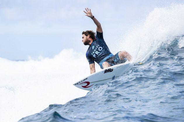 Matt Wilkinson, Tahiti Pro 2018, Teahupoo. Foto: WSL / Cestari.