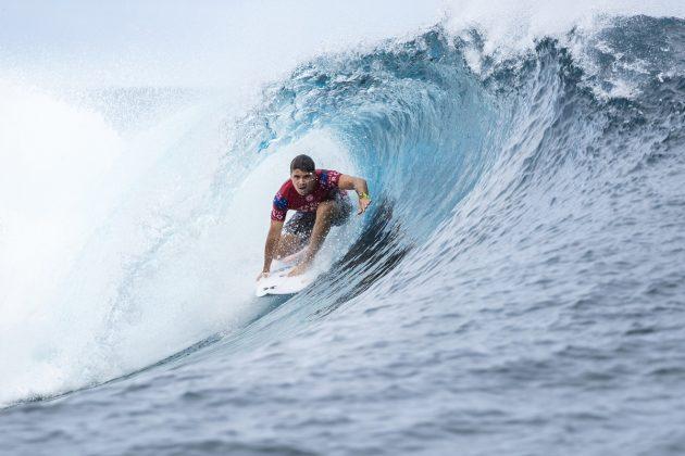Julian Wilson, Tahiti Pro 2018, Teahupoo. Foto: WSL / Cestari.