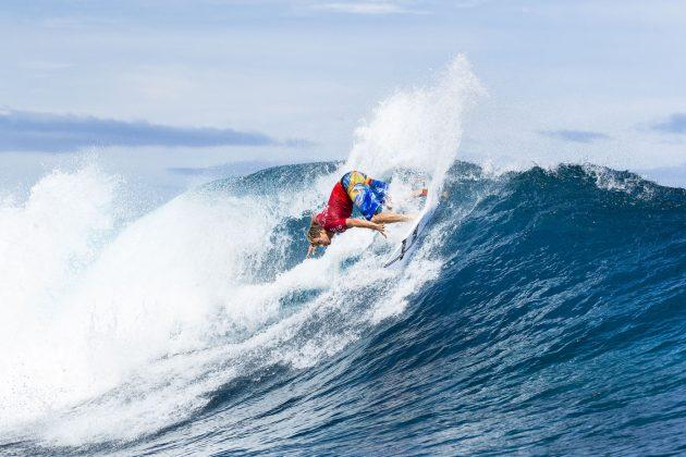 Sebastian Zietz, Tahiti Pro 2018, Teahupoo. Foto: WSL / Cestari.