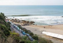 UR ISA World Surfing Games 2018, Long Beach, Tahara, Japão.