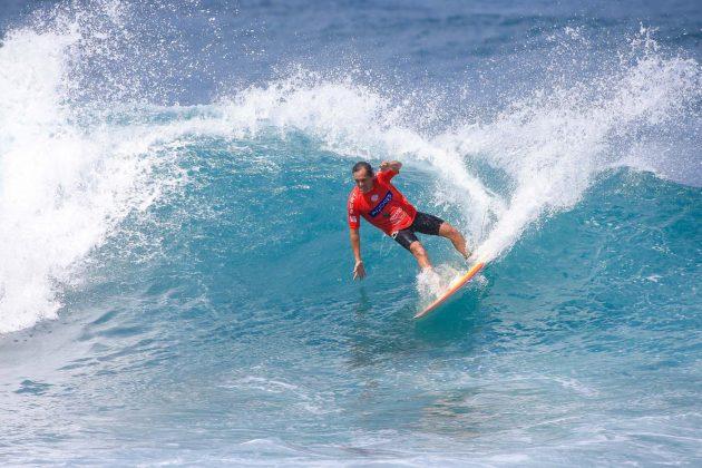 Derek Ho, World Masters Championship 2018, Açores, Portugal. Foto: WSL / Masurel.