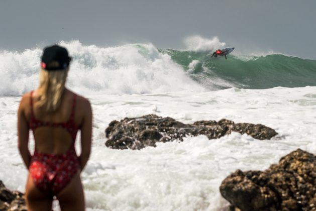 Dylan Southworth, UR ISA World Surfing Games 2018, Long Beach, Tahara, Japão. Foto: ISA / Sean Evans.