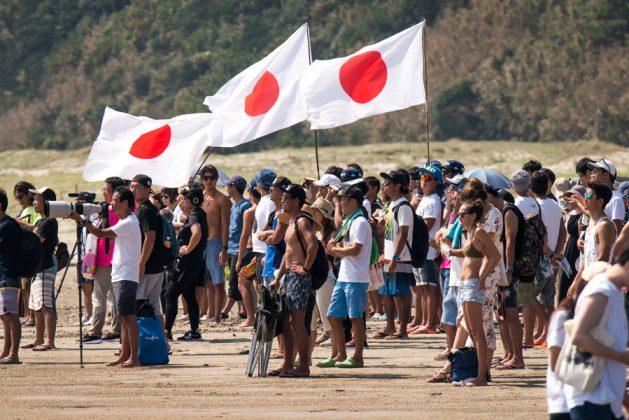 Equipe japonesa, UR ISA World Surfing Games 2018, Long Beach, Tahara, Japão. Foto: ISA / Sean Evans.
