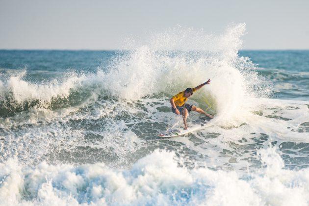 Gearoid McDaid, UR ISA World Surfing Games 2018, Long Beach, Tahara, Japão. Foto: ISA / Ben Reed.