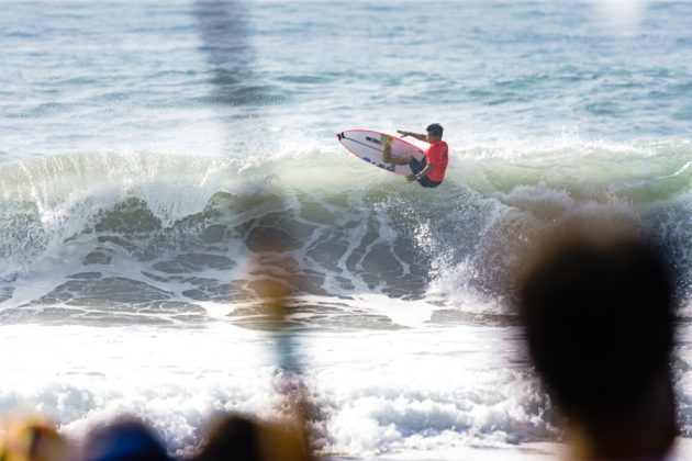 Hiroto Ohara, UR ISA World Surfing Games 2018, Long Beach, Tahara, Japão. Foto: ISA / Ben Reed.