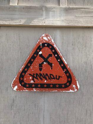 Icônico logotipo da Xanadu, Califórnia (EUA). Foto: Arquivo pessoal Fabio Gouveia.