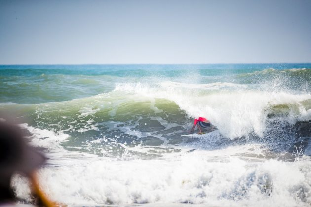 Jay Quinn, UR ISA World Surfing Games 2018, Long Beach, Tahara, Japão. Foto: ISA / Ben Reed.