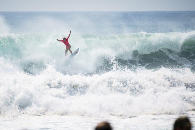 Justine Dupont, UR ISA World Surfing Games 2018, Long Beach, Tahara, Japão. Foto: ISA / Ben Reed.