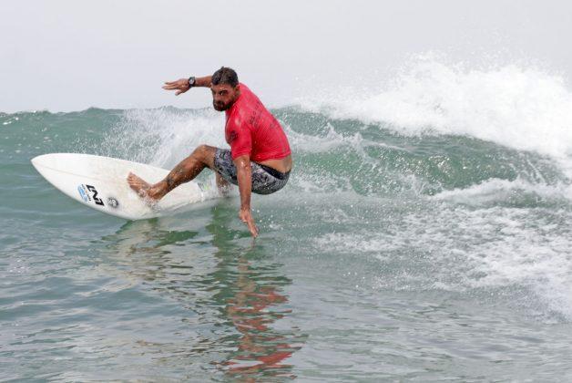 Leo Neves, Rio Surf Pro Brasil 2018, Grumari, Rio de Janeiro (RJ). Foto: Pedro Monteiro.